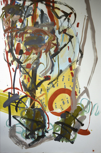 Sandra DETOURBET - Painting - L'indivisible