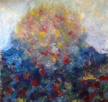 Patricia ABRAMOVICH - Gemälde - Blue bomb
