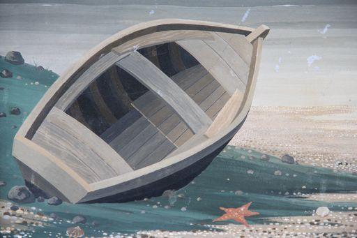 Rastislaw RACOFF - Gemälde - BORD DE MER