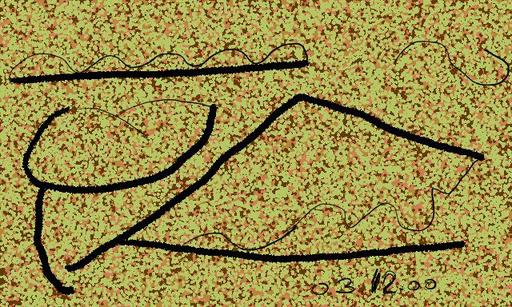 Harry BARTLETT FENNEY - Audiovisual-Multimedia - mountain domain (digi drawing1998 )
