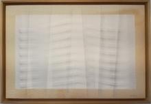 Agostino BONALUMI - Peinture - Estroflessione seta bianca