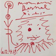 巴勃罗•毕加索 - 水彩作品