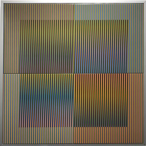 Carlos CRUZ-DIEZ - Gemälde - Couleur Additive Serie 14