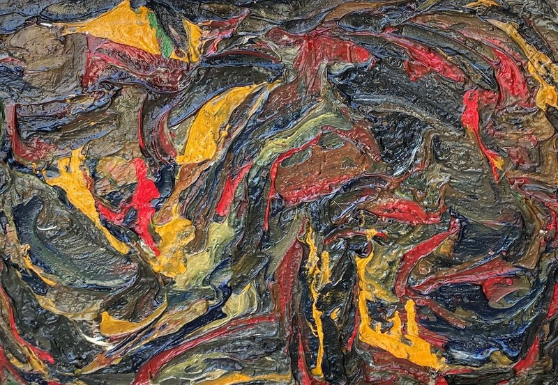 Claude JOUHANNEAU - Painting - Abstrait