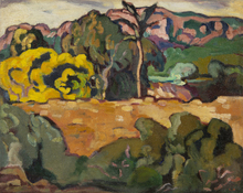 Louis VALTAT - Painting - Grand paysage