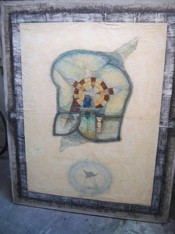 Bernard BERTHOIS-RIGAL - Pintura - Vinrent des jours de lassitude