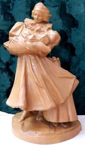 Frantisek UPRKA - Ceramic - Woman with child