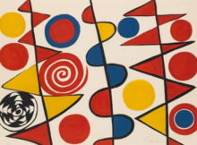 Alexander CALDER - Estampe-Multiple - Pennants
