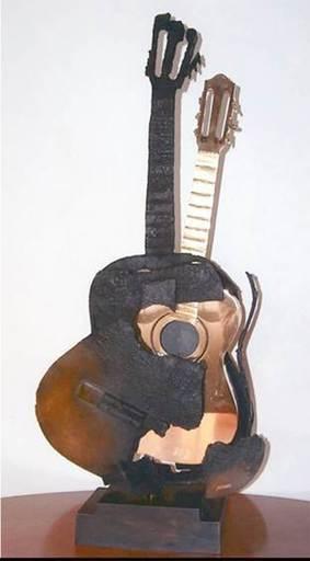 Fernandez ARMAN - Guitare Brulee et Polie