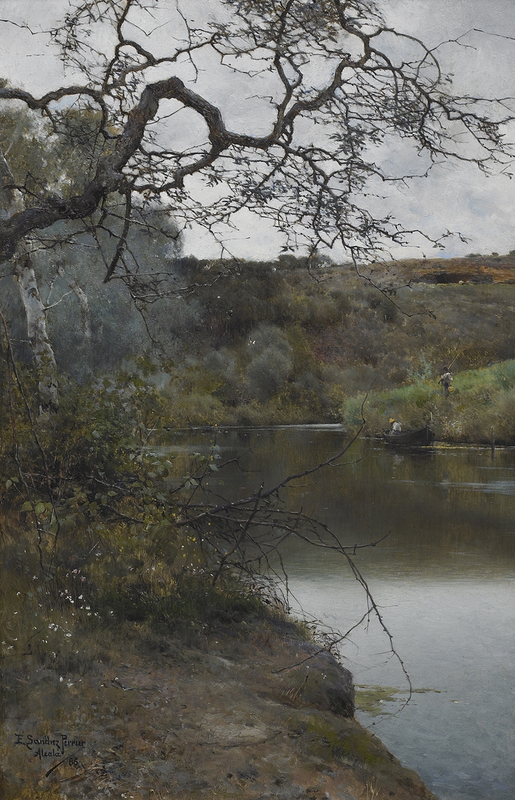 Emilio SÁNCHEZ PERRIER - Pintura - A Peaceful Moment in Acala