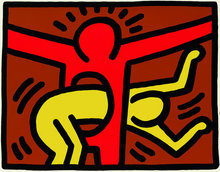 Keith HARING (1958-1990) - Pop Shop IV, (3)
