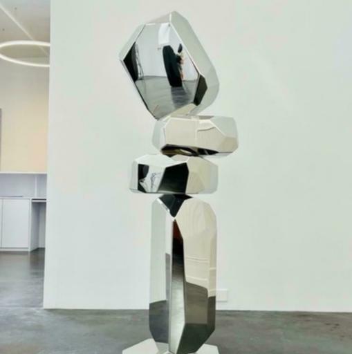 Arik LEVY - Skulptur Volumen - RockFormationTower 180