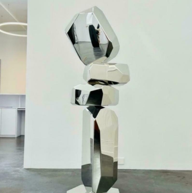 Arik LEVY - Sculpture-Volume - RockFormationTower 180