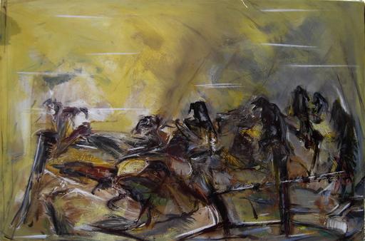 Alain GESTIN - Peinture - Les augures