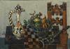 Paul AIZPIRI - Peinture - Still Life with Clarinet