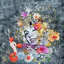Laetitia DE GAULLE - Painting - Maryline in love