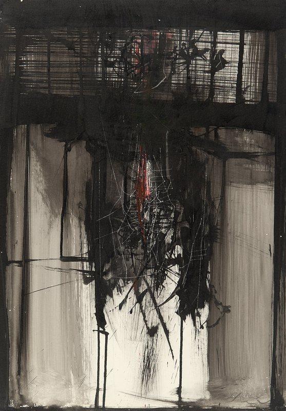 Emilio SCANAVINO - Peinture - senza titolo