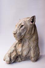 Patrick VILLAS - Sculpture-Volume - Tête de léopard féminin III