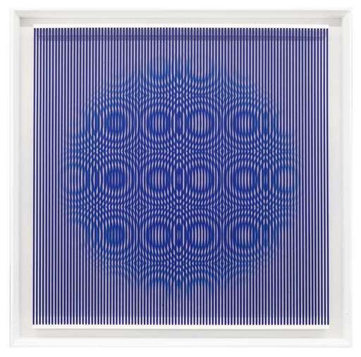 Alberto BIASI - Pittura - Blue rain