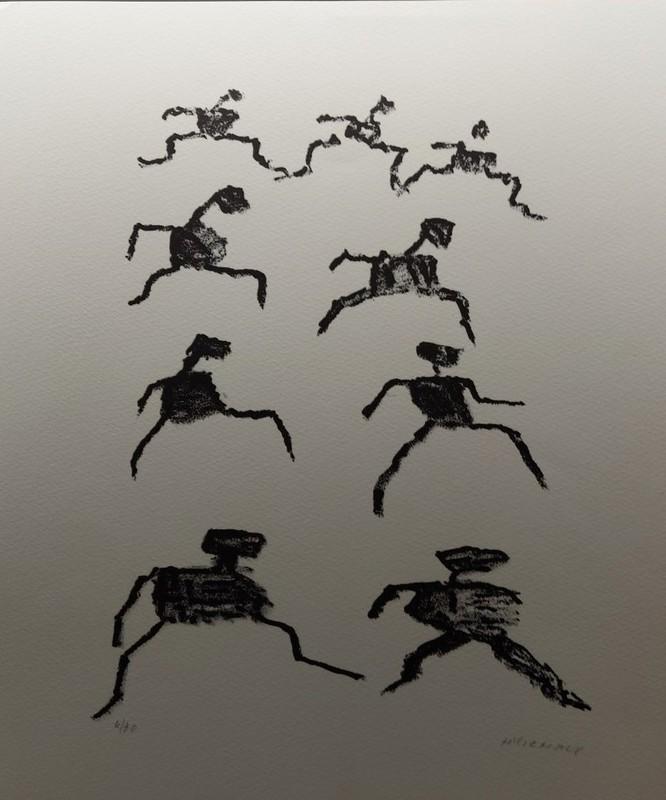 Henri MICHAUX - Stampa-Multiplo - Voie  des rythmes C162