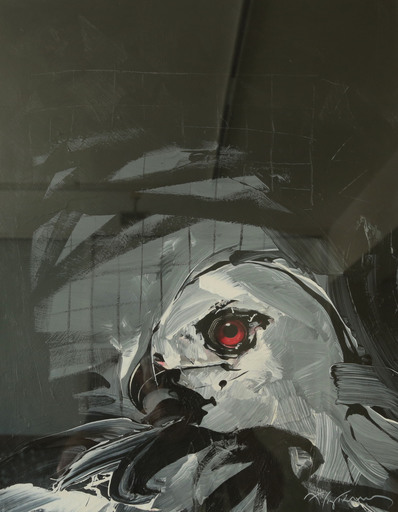 Apostolos YAYANNOS - Pittura - Portrait No. 9