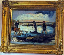 Jacques SEGAL - Pintura - MAREE BASSE
