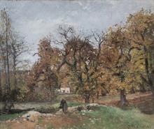 Camille PISSARRO (1830-1903) - Le Ru de Montbuisson, Louveciennes