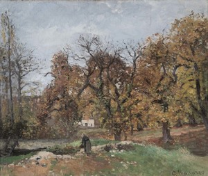 Camille PISSARRO - Painting - Le Ru de Montbuisson, Louveciennes