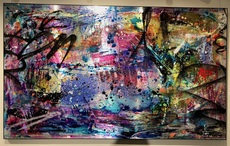 Cédric BOUTEILLER - Painting - Abstraction Powerland