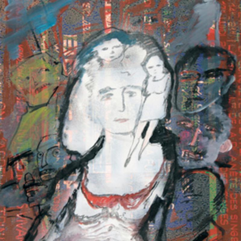 Zvi MILSHTEIN - 绘画 - Mademoiselle Julie