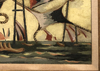 Jean LURÇAT - Pittura - La Bataille de Trafalgar