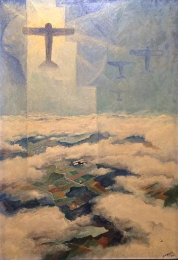 Alfredo Gauro AMBROSI - Pittura - Il sacrificio