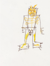 Jean-Michel BASQUIAT - Peinture - Untitled