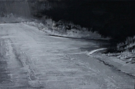 Alexey ALPATOV - Painting -  Night Road V