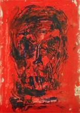 Nedzad Nedzo DURAKOVIC - Painting - Bony face - 2015