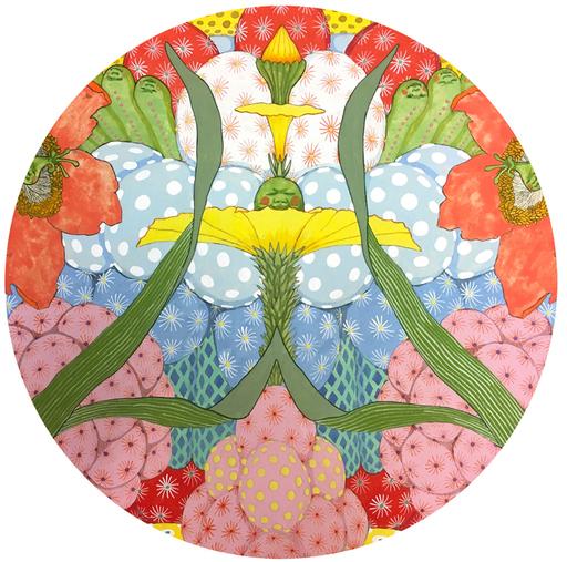 Mari ITO - Painting - Origen del deseo - Ritmo feliz #3