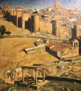 Archibald Elliot HASWELL-MILLER - Painting - Avila