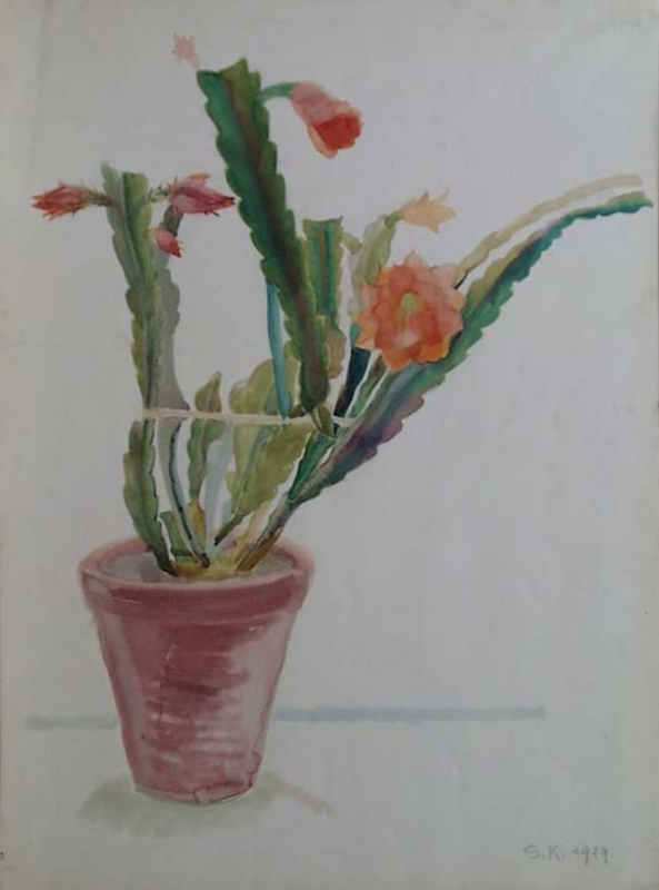 "Silvia KOLLER - Pittura - ""Cactus"" by Sylvia Koller, Watercolour"