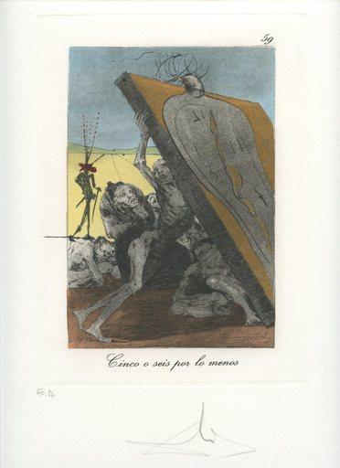 萨尔瓦多·达利 - 版画 - GRAVURE SIGNÉ AU CRAYON ANNOTÉ EA ML906 HANDSIGNED ETCHING