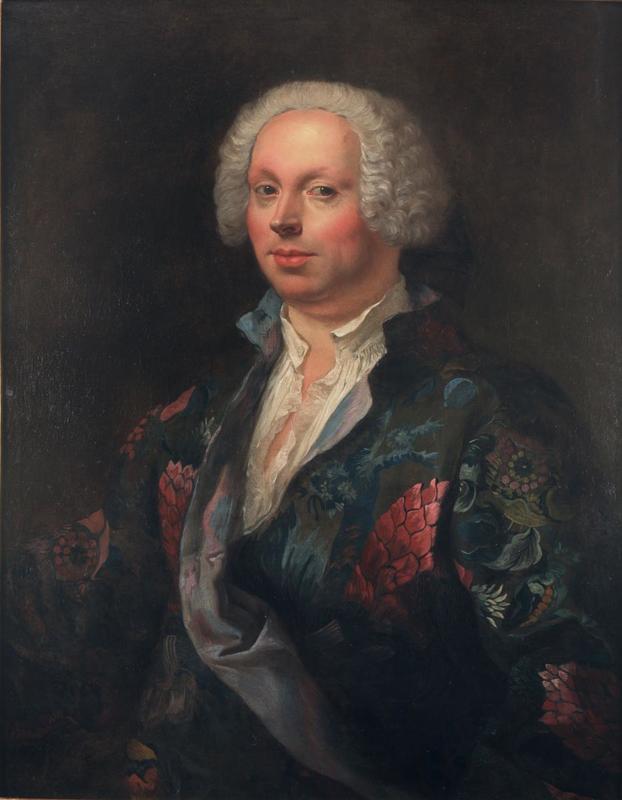 Sebastiano CECCARINI - Gemälde - Portrait de Domenico Annibali