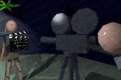Mario STRACK - Estampe-Multiple - Un Film Francais 2 - Grafik / graphic ltd. Edition