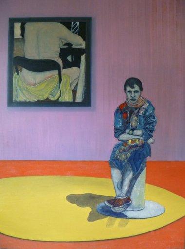 Martial MOLITOR - Painting - Loveless    (Cat N° 3804)