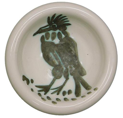 Pablo PICASSO - Ceramiche - Oiseau à crête