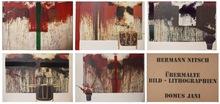 Hermann NITSCH - Estampe-Multiple - Ubermalte Bild - Lithographien, Domus Jani
