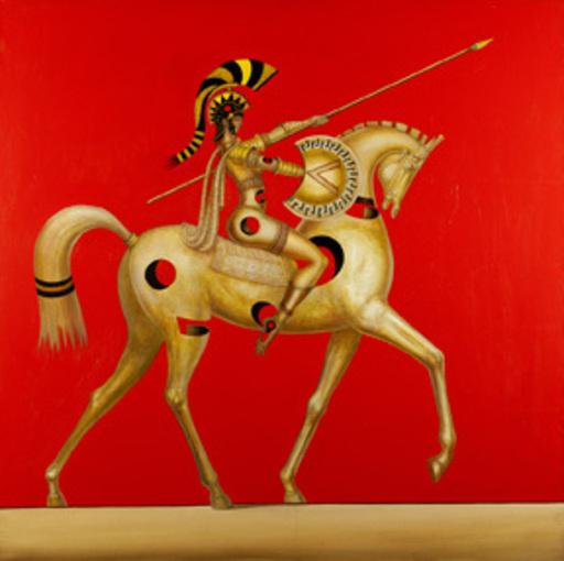 Hovik KOCHINIAN - Pittura - Ready Spartan Beauty [SOLD]