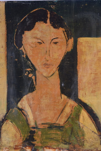 Amedeo MODIGLIANI - Pintura - Portrait