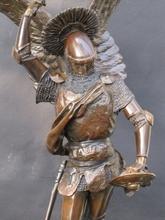 Emmanuel FRÉMIET - Sculpture-Volume - Saint Michel Archange