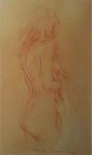Roy PETLEY - Painting - Modèle nue