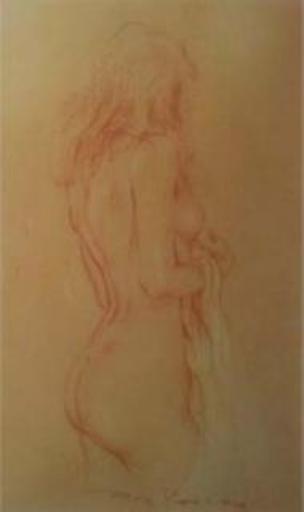Roy PETLEY - Pittura - Modèle nue