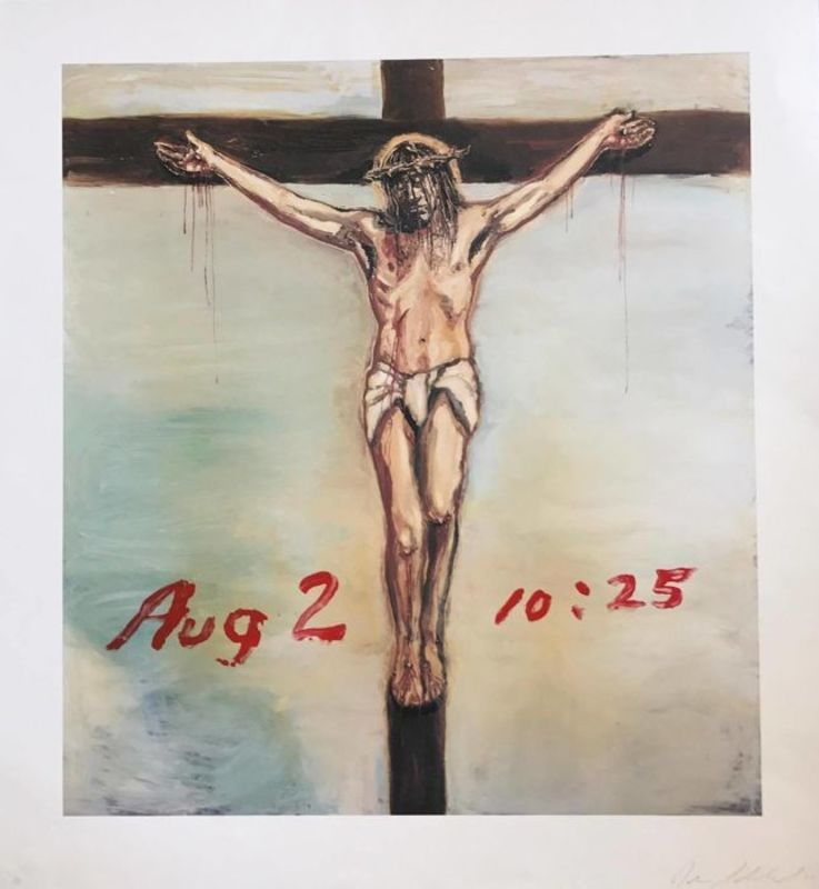Julian SCHNABEL - Stampa Multiplo - AUG 2 10:25